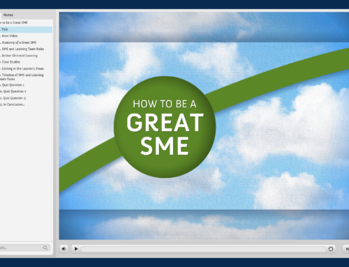 How to be a Great SME